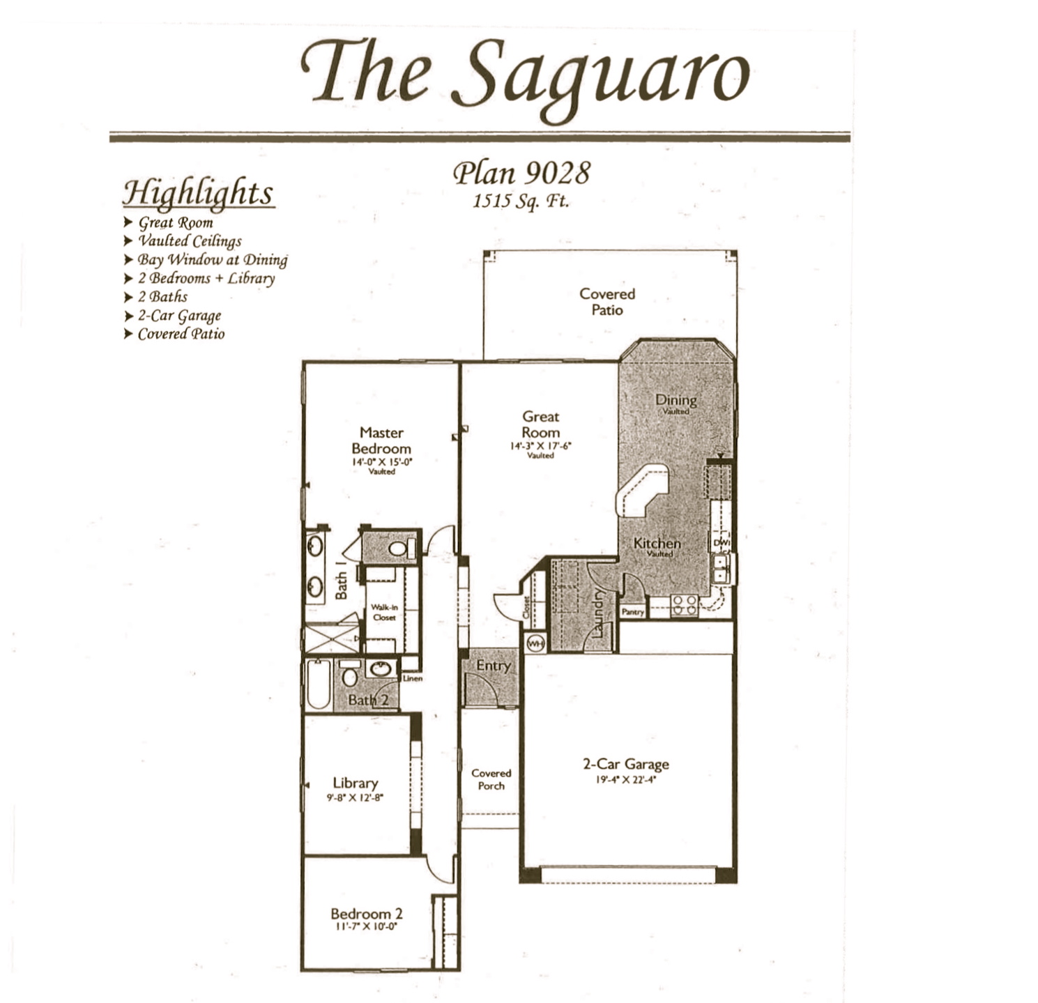 Arizona traditions floor plans jos e marie plant pllc for Az house plans