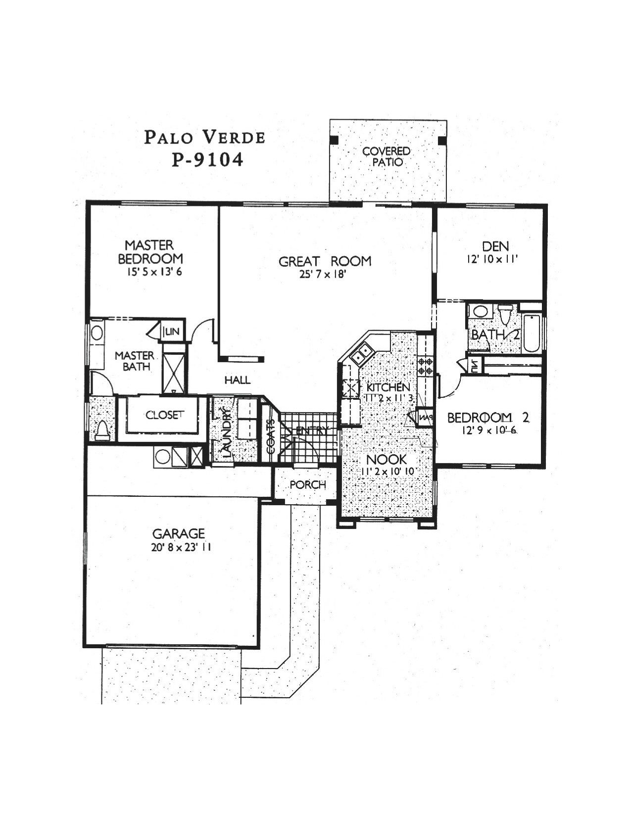 Sun city grand floor plans jos e marie plant pllc gri for Palo verde homes floor plans