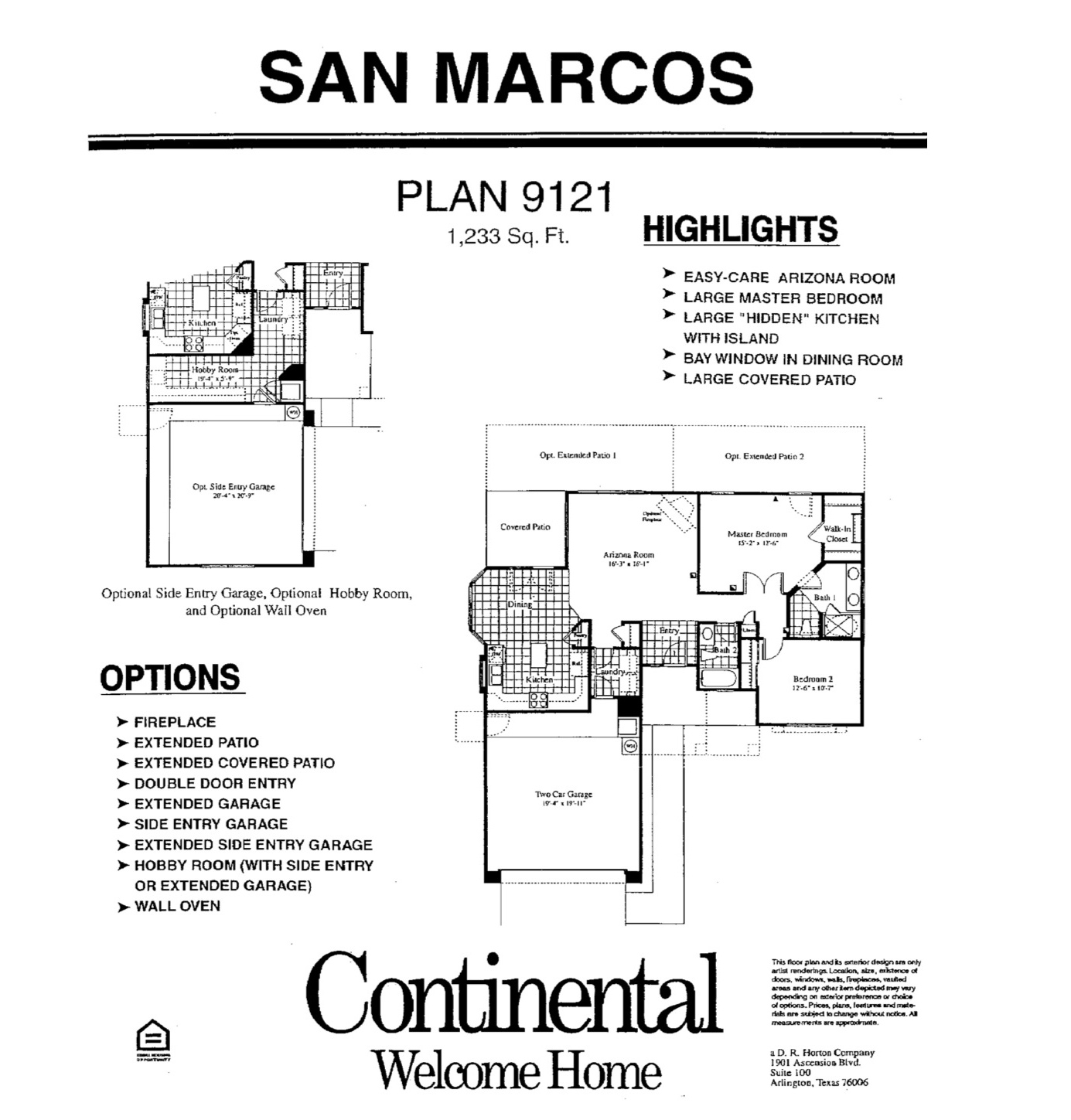 Arizona Traditions Floor Plans Jos 233 E Marie Plant Pllc
